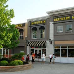 smoky mountain brewery  Pigeon  Forge  Tennessee