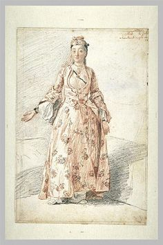 Portrait of Madmoiselle Beli in Constantinople,Liotard