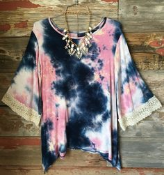 Beautiful Storm Tunic Top
