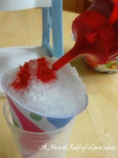 Raspberry Peach Real Fruit Homemade Snow Cone Syrup Recipe
