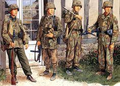"""Waffen SS - 12a Waffen SS Panzer Division """"Hitlerjugend"""" - Ron Volstad"""