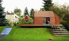 Znalezione obrazy dla zapytania designerskie domki ogrodowe dziecięce