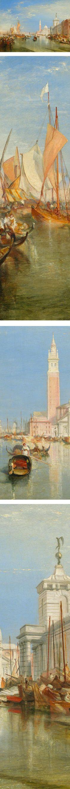 Venice: The Dogana and San Giorgio Maggiore, Joseph Mallord William Turner