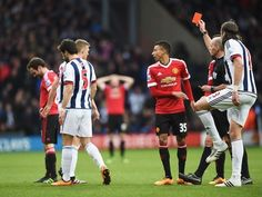 Result: Salomon Rondon on target as West Bromwich Albion beat 10-man Manchester United