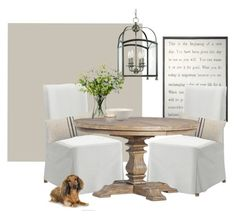 """""""dining room"""" by homebyally on Polyvore featuring interior, interiors, interior design, home, home decor, interior decorating, Sugarboo Designs, Hudson Valley Lighting, LSA International and Kate Spade"""
