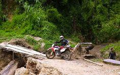Partir en voyage moto : Voyage moto au Laos. Partez en Raid Moto Laos avec Charly, spécialiste du voyage moto ! http://www.planet-ride.com/voyage-moto/