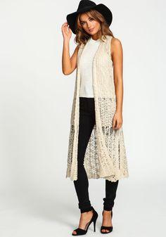 CROCHET KNIT RACERBACK MAXI VEST Love Culture, Lace Skirt, Vest, Knitting, Crochet, Skirts, Dresses, Fashion, Vestidos