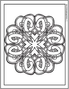 cat celtic coloring pages - photo#16