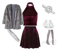 """""""Untitled #36"""" by pamp-royal on Polyvore featuring River Island, Topshop, MANGO, Truffle and Ippolita"""