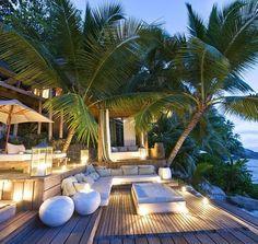 Beach life paradise