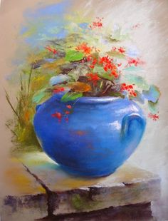 Mouth Watering Large-Protein Breakfast Recipes For Vegetarians - My Website Soft Pastel Art, Pastel Flowers, Pastel Drawing, Watercolor Flowers, Watercolor Paintings, Chalk Pastels, Oil Pastels, Painting Inspiration, Flower Art