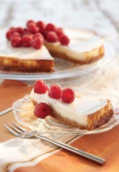 New Yorkin juustokakku | K-ruoka #cheesecake