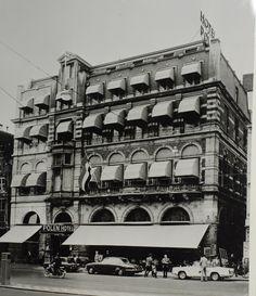 Hotel Polen in de jaren zestig