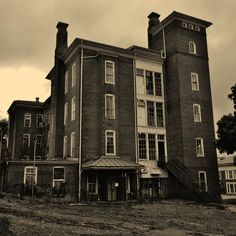 #abandoned Insane Asylum complex in #Staunton #Virginia (photoTrak©)