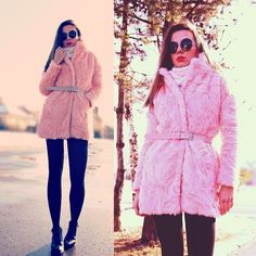 Jointy&Croissanty ©. - pink coat