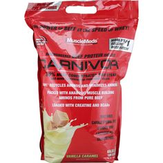 MuscleMeds Carnivor Vanilla Caramel 8 lbs | Regular Price: $139.99, Sale Price: TOO LOW TO SHOW! | OvernightSupplements.com | #onSale #supplements #specials #MuscleMeds #GlutenFree  | Bioengineered Beef Protein IsolateCarnivor 350 More Concentrated Than Steak And More Concentrated Than Whey Isolate ANRT Recycles Aminos And Minimizes Ammonia Packed With Anabolic Muscle Building Aminos From Pure Beef Loaded With Creatine And BCAAsBeef Up With Carnivor The World s First Beef Pro