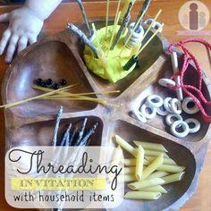 DIY Threading Invitation