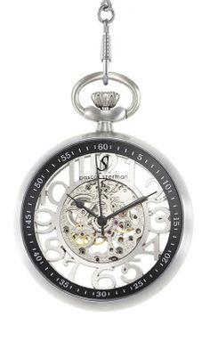 Une montre gousset traditionnelle horlogerie m canique et cadran fermoir et sa cha ne de - Montre gousset tatouage ...