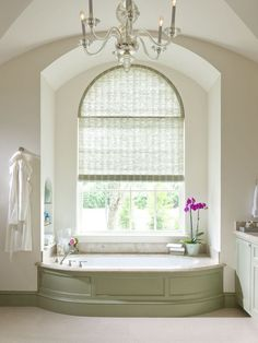 Simple and Crazy Tricks Can Change Your Life: Patio Blinds Sliders diy blinds step by step.Blinds For Windows Office living room blinds rustic.Diy Blinds For Windows. Arched Window Treatments, Bathroom Window Treatments, Bathroom Blinds, Bathroom Windows, Arched Windows, Bathrooms, Shaped Windows, Master Bathroom, Houzz Bathroom