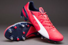 2ab71145b Puma evoSPEED 1.3 Mixed SG - Bright Plasma-White-Peacoat. Puma Football  BootsPumasSoccer ...