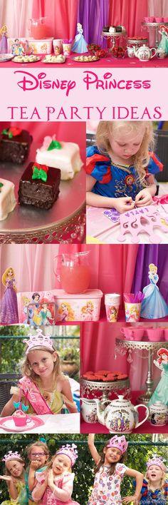 Disney Princess Party #BDayOnBudget ad @Walmart