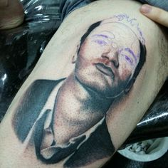 Tarantino tattoo by Edson Biscaia / Brazil