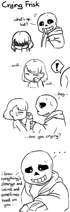 Part Kindhearted Frisk couldn't refuse the plate of spaghetti made specially for them. :D And then it did not sit well in their stomach… Undertale Ships, Undertale Cute, Undertale Comic, Undertale Fanart, Ut Mob, Sans X Frisk, Frans Undertale, Toby Fox, Kids Up