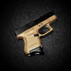 Glock 26 9mm, flat dark earth frame, great concealed carry weapon