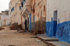 Sidi Ifni (Morocco) - Typical street   Three years ago we ju…   Flickr
