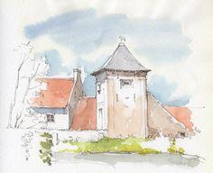 https://flic.kr/p/Q8VzcV | Oudenburg, duiventoren van de abdijhoeve, België | 2016