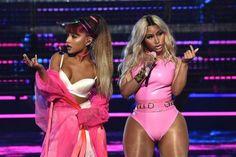 vma nicki minaj e ariana grande VMA 2016 Blog Eu Capitu