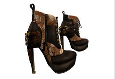 Working on Steampunks Boots....2 | Flickr - Photo Sharing!