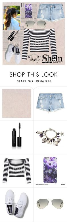 """""""Bez naslova"""" by velida-husic ❤ liked on Polyvore featuring Bobbi Brown Cosmetics, NOVICA, Keds, Ray-Ban, women's clothing, women, female, woman, misses and juniors"""