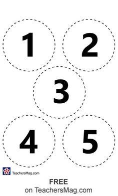 Fall Preschool Activities, Toddler Learning Activities, Preschool Learning Activities, Preschool Math, Book Activities, Teaching Numbers, Numbers Kindergarten, Numbers Preschool, Number Recognition Activities