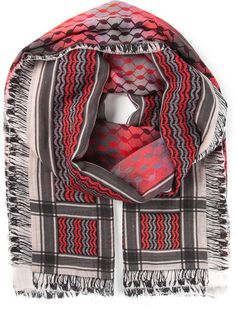 LALA BERLIN checked scarf £251.07