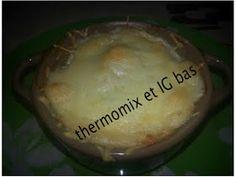 thermomix et IG bas: Béchamel à IG bas