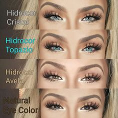 """Valery Medina on Instagram  """"Honestly The most Natural looking contact  lenses on the market. Get yours now from  solotica.us and use my discount  code"""