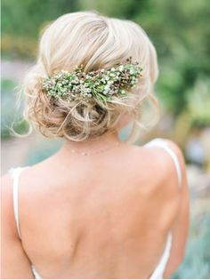 Romantic Updo perfect for any outdoor wedding