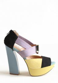 g'eee pastels!   - Multi-Color Deedee Heels by Lovely People