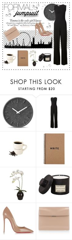 """Formal Jumpsuit"" by martinadammassa on Polyvore featuring moda, LEFF Amsterdam, STELLA McCARTNEY, Sia, Mad et Len, Vanity Fair, Christian Louboutin, Marni, DateNight e formaljumpsuit"