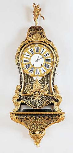 Keeping a Boulle clock support by Rick Vogt