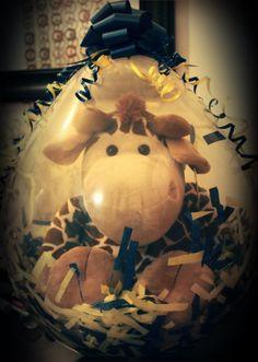 Giant Giraffe Stuffed Balloon - 24inches.
