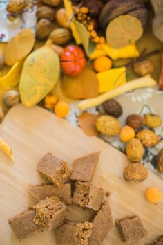 Rya Pie: Pumpkin Chai Brownie Bites