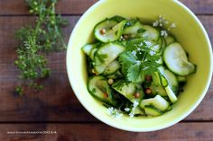 *recipe and photo by Sari Mattsson*  Cilantro zucchinis