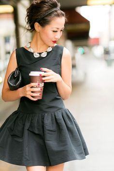 pretty little black dress.