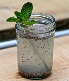 POWER-HYDRATE: 13 Delicious Chia Drink Recipes. Chia Agua Fresca with ...