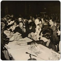 """Elvis signing pictures at the Memphis' """"Holliday Inn"""", January 16th 1971. Jaycee's event"""