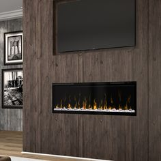 Shop for Dimplex IgniteXL 50 inch Linear Electric Fireplace. Get free delivery On EVERYTHING* Overstock - Your Online Home Decor Outlet Store! Get in rewards with Club O! Contemporary Gas Fireplace, Linear Fireplace, Stove Fireplace, Fireplace Design, Shiplap Fireplace, Built In Electric Fireplace, Electric Fireplaces, Fireplace Stores, Infrared Heater