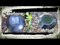 Quick & Easy Way to Clean, Renew & Restore Solar Pathway Lights! Looks Brand New! - Helpful hints - Quick & Easy Way to Clean, Renew & Restore Solar Pathway Lights! Looks Brand New! Diy Solar, Solar Light Crafts, Best Solar Garden Lights, Solar Path Lights, Solar Licht, Best Solar Panels, Outdoor Projects, Diy Projects, Solar Power