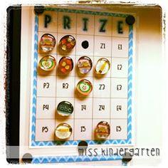 Miss Kindergarten: Behavior Bingo